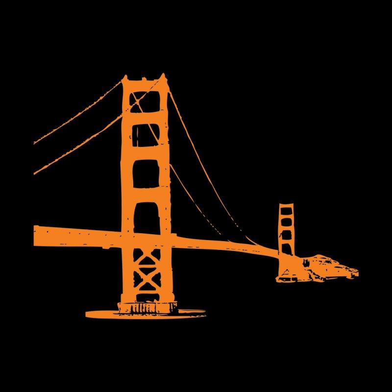 Golden Gate Men's T-Shirt by We Are California Grown's Artist Shop