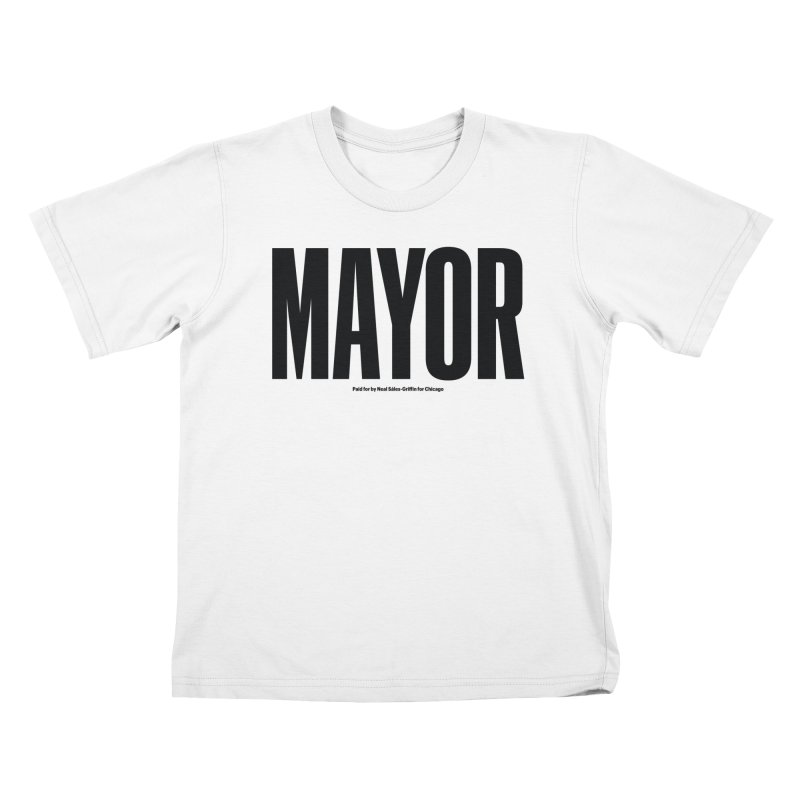 We Are Mayor in Kids T-Shirt White by We Are Mayor