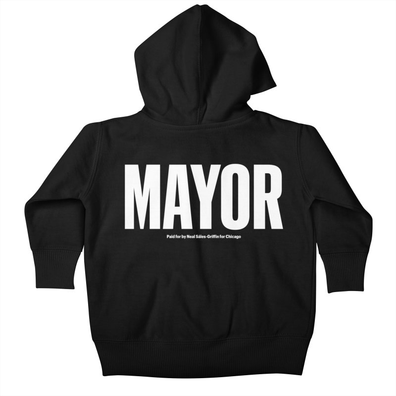 We Are Mayor Kids Baby Zip-Up Hoody by We Are Mayor | Neal For Mayor