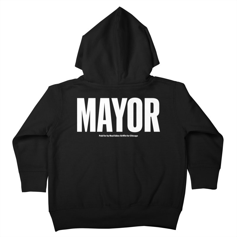 We Are Mayor Kids Toddler Zip-Up Hoody by We Are Mayor | Neal For Mayor