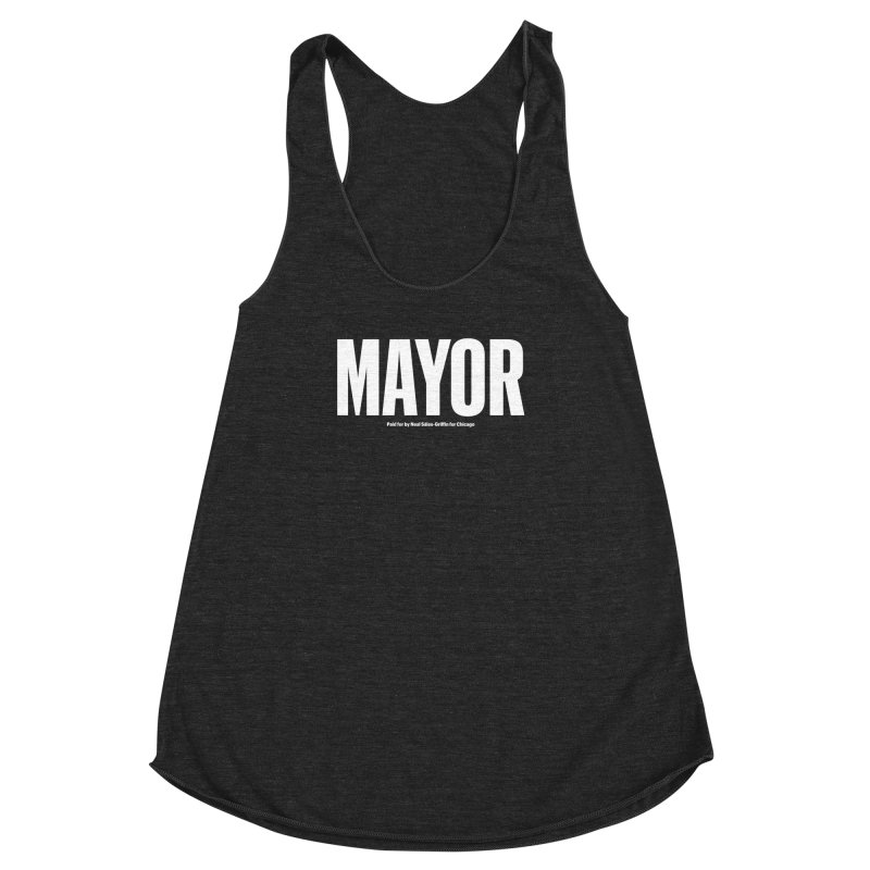 We Are Mayor Women's Racerback Triblend Tank by We Are Mayor | Neal For Mayor