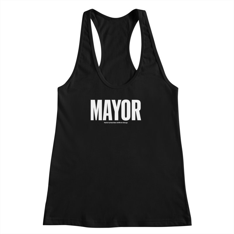 We Are Mayor Women's Racerback Tank by We Are Mayor | Neal For Mayor