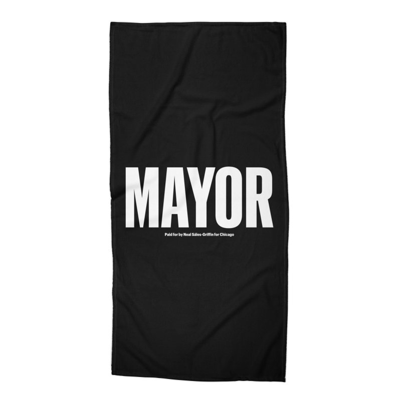 We Are Mayor Accessories Beach Towel by We Are Mayor | Neal For Mayor