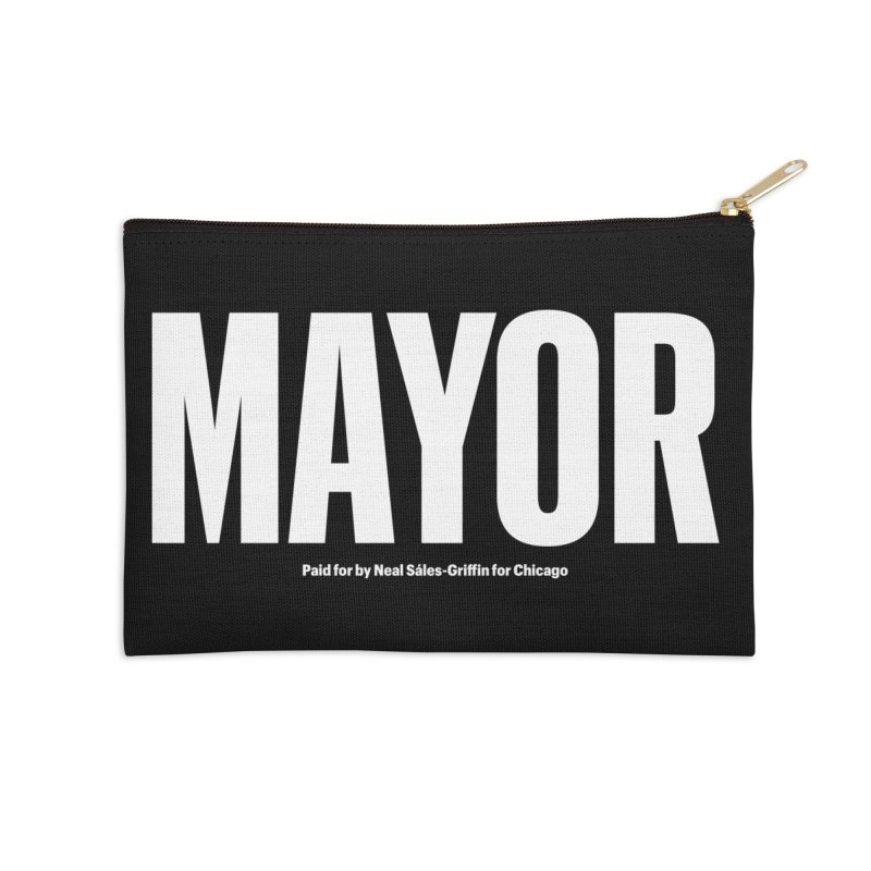 We Are Mayor Accessories Zip Pouch by We Are Mayor | Neal For Mayor