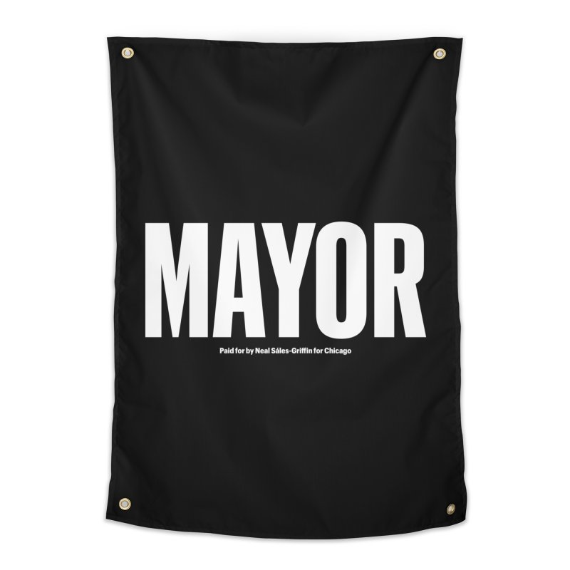We Are Mayor Home Tapestry by We Are Mayor | Neal For Mayor