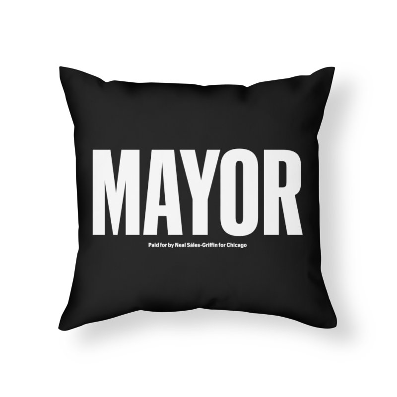 We Are Mayor in Throw Pillow by We Are Mayor | Neal For Mayor