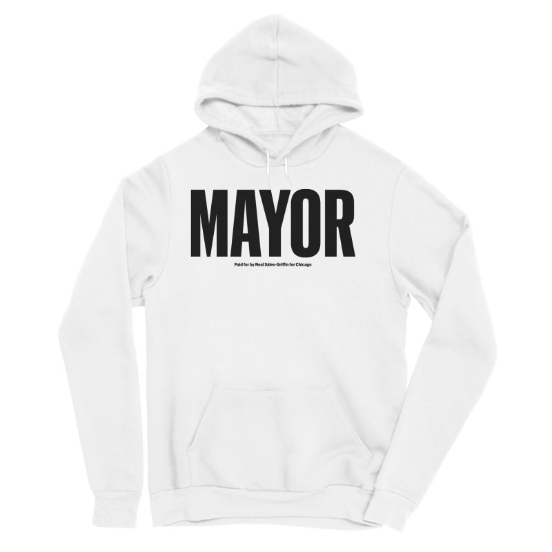 We Are Mayor Men's Sponge Fleece Pullover Hoody by We Are Mayor | Neal For Mayor