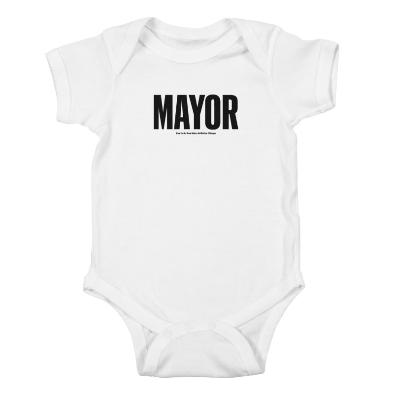 We Are Mayor Kids Baby Bodysuit by We Are Mayor | Neal For Mayor