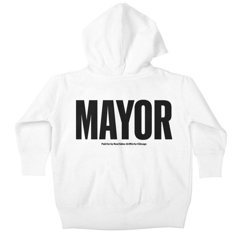 We Are Mayor Kids Baby Zip-Up Hoody by We Are Mayor | Neal For Mayor