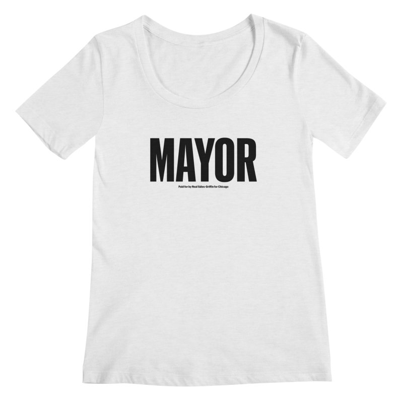 We Are Mayor Women's Regular Scoop Neck by We Are Mayor | Neal For Mayor