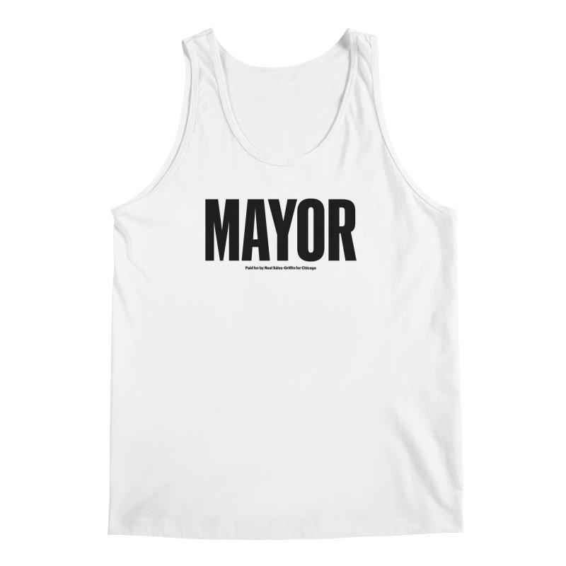 We Are Mayor Men's Regular Tank by We Are Mayor | Neal For Mayor