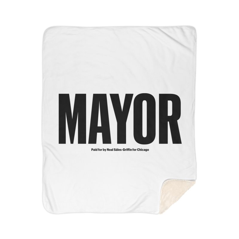 We Are Mayor Home Sherpa Blanket Blanket by We Are Mayor | Neal For Mayor