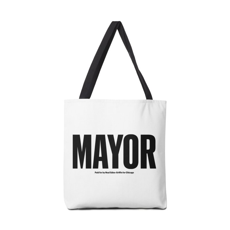 We Are Mayor Accessories Tote Bag Bag by We Are Mayor | Neal For Mayor