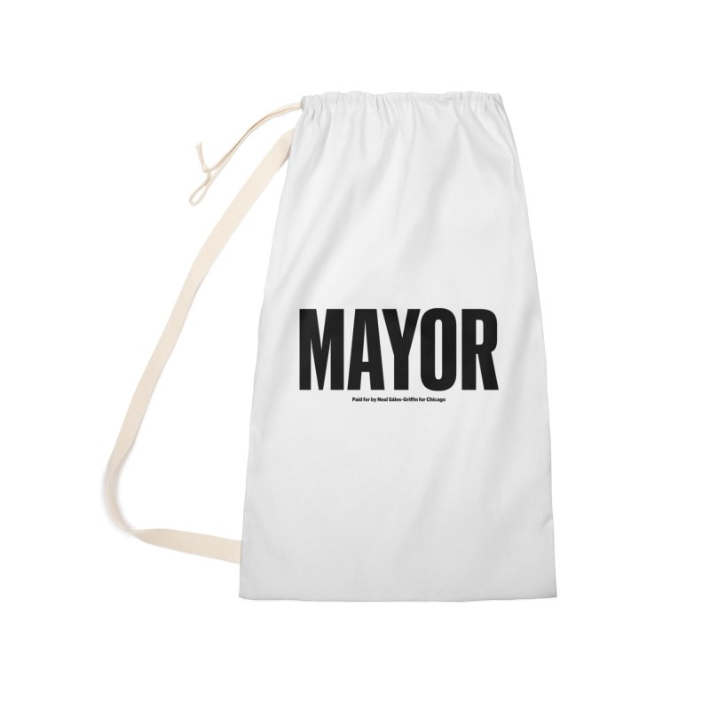 We Are Mayor Accessories Laundry Bag Bag by We Are Mayor | Neal For Mayor