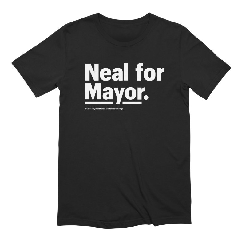 Neal for Mayor Men's Extra Soft T-Shirt by We Are Mayor | Neal For Mayor
