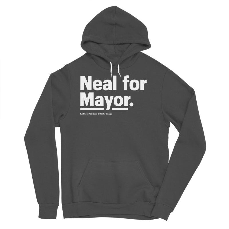 Neal for Mayor Men's Sponge Fleece Pullover Hoody by We Are Mayor | Neal For Mayor