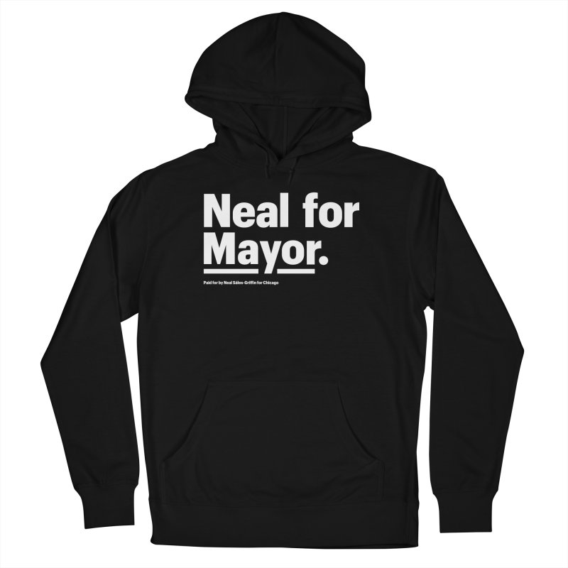 Neal for Mayor Men's French Terry Pullover Hoody by We Are Mayor | Neal For Mayor