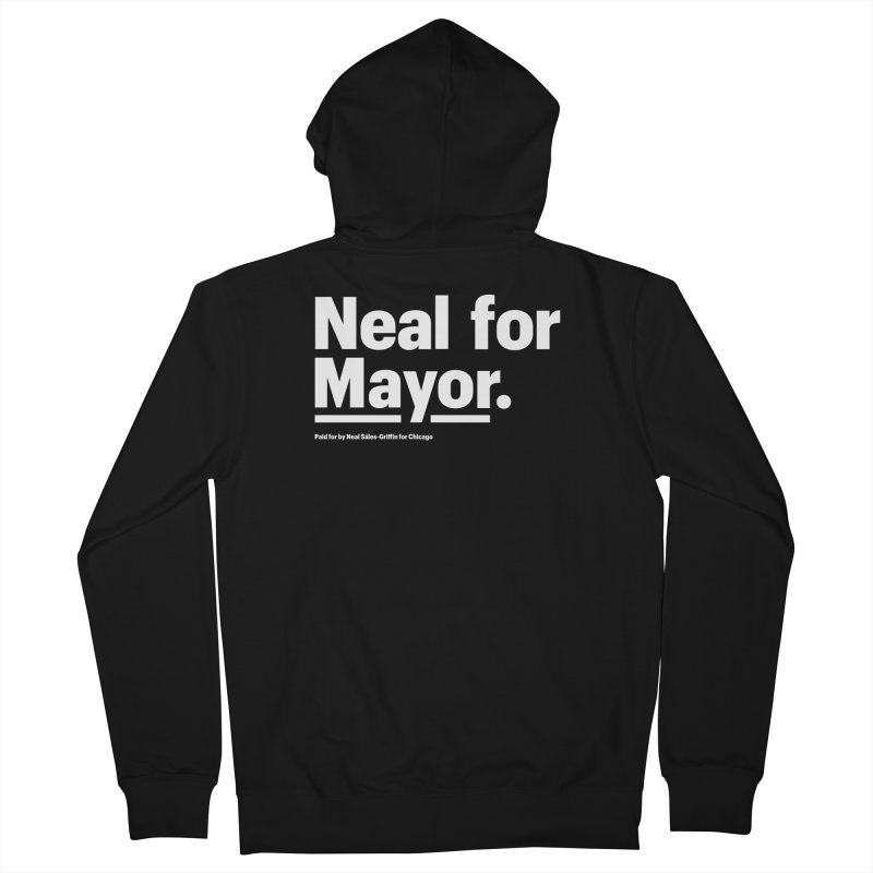 Neal for Mayor Men's French Terry Zip-Up Hoody by We Are Mayor | Neal For Mayor