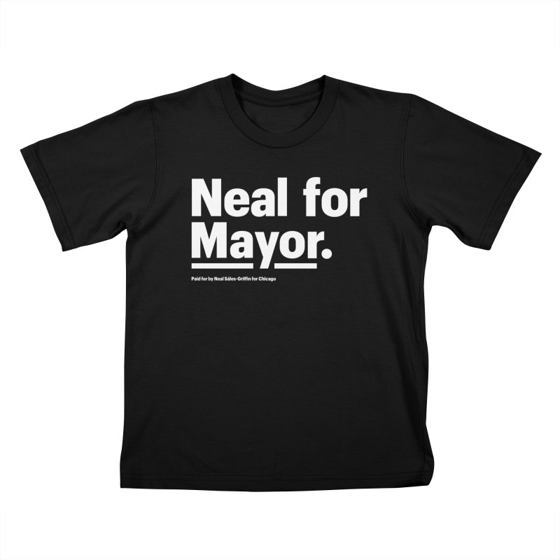 Neal for Mayor Kids T-Shirt by We Are Mayor | Neal For Mayor