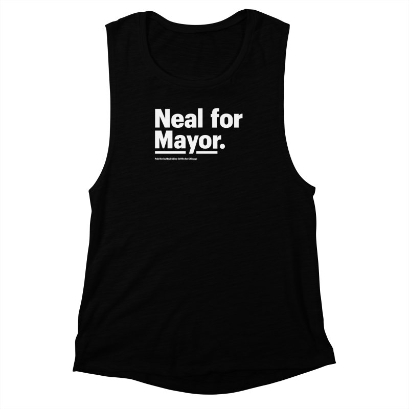 Neal for Mayor Women's Muscle Tank by We Are Mayor | Neal For Mayor