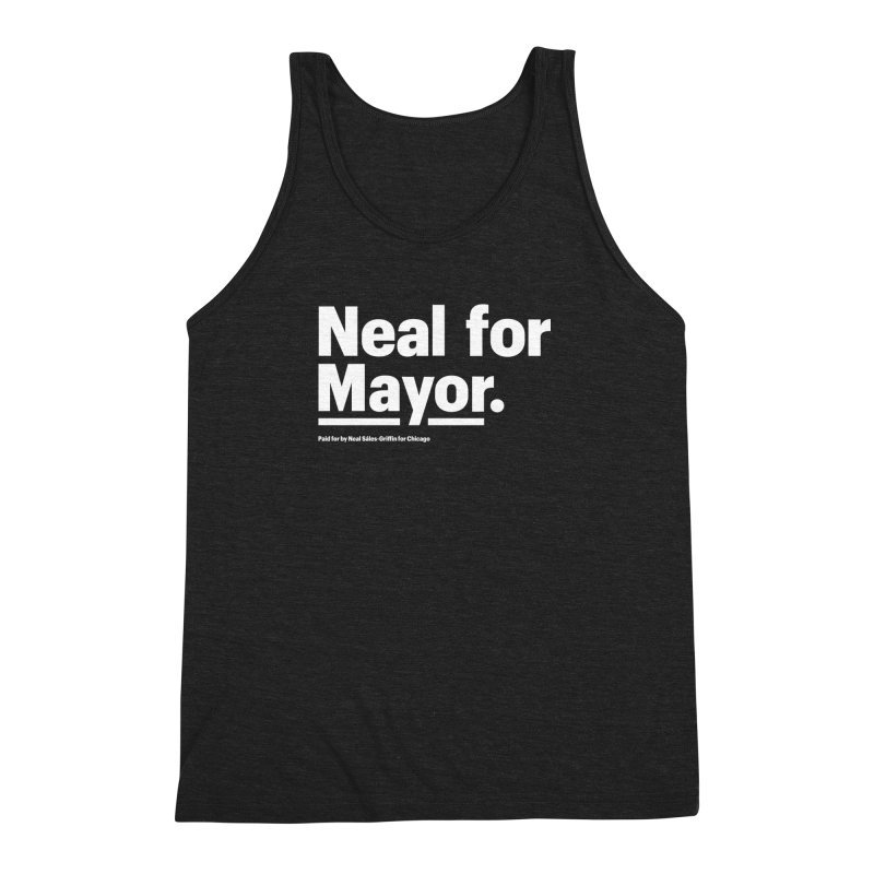 Neal for Mayor Men's Triblend Tank by We Are Mayor | Neal For Mayor