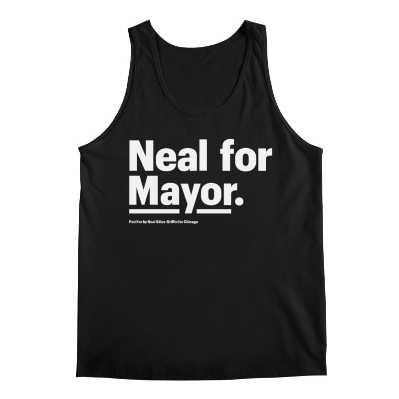 Neal for Mayor Men's Regular Tank by We Are Mayor | Neal For Mayor