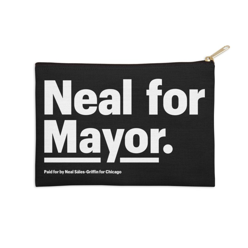 Neal for Mayor Accessories Zip Pouch by We Are Mayor | Neal For Mayor