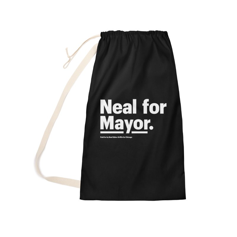 Neal for Mayor Accessories Laundry Bag Bag by We Are Mayor | Neal For Mayor