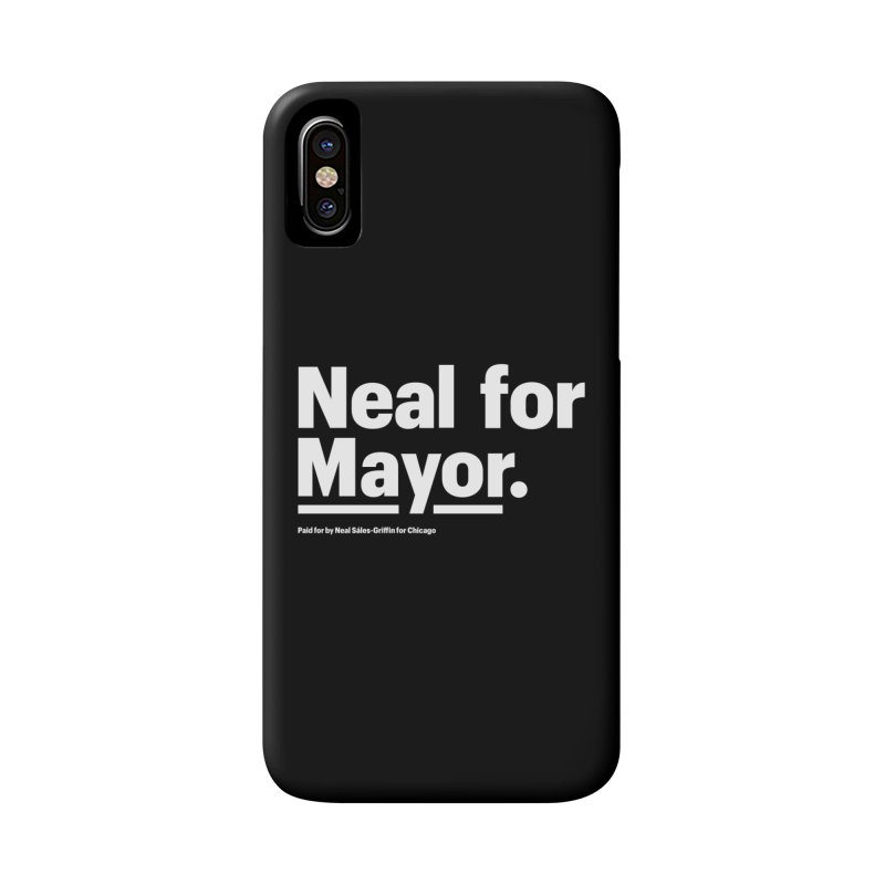 Neal for Mayor Accessories Phone Case by We Are Mayor | Neal For Mayor