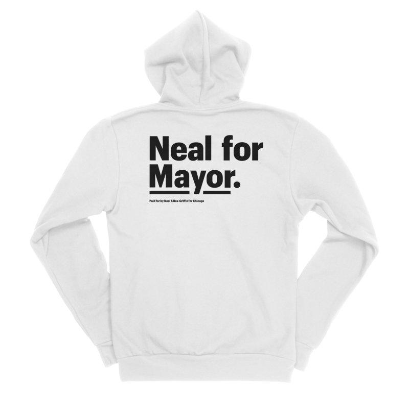 Neal for Mayor Women's Sponge Fleece Zip-Up Hoody by We Are Mayor | Neal For Mayor