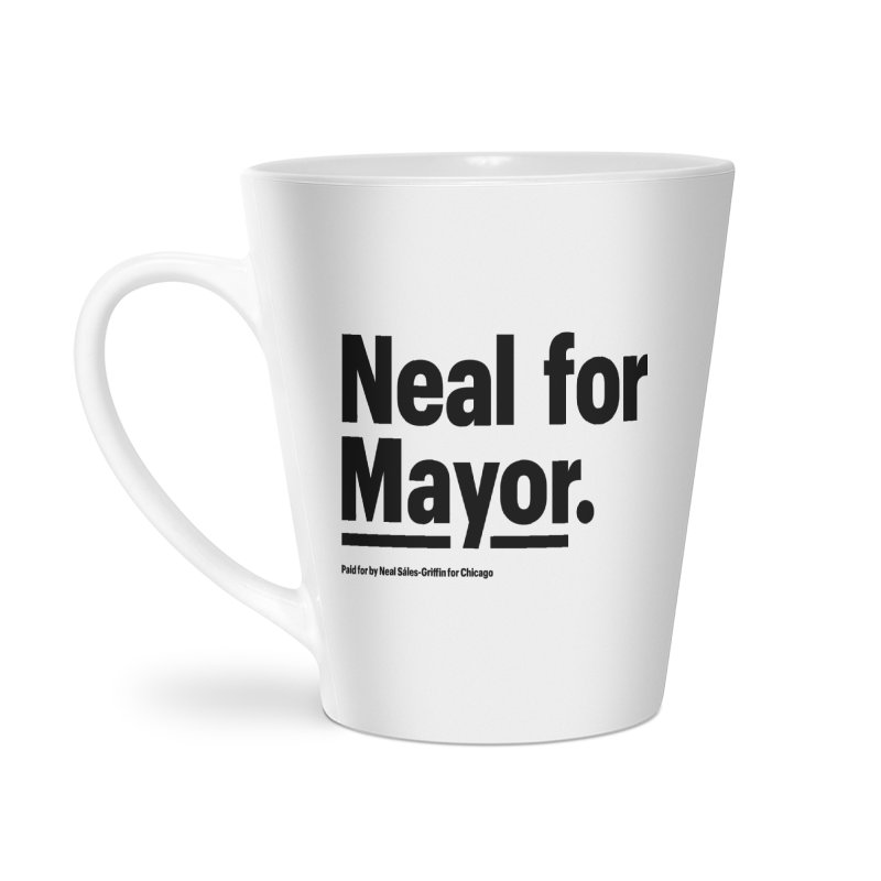 Neal for Mayor Accessories Latte Mug by We Are Mayor | Neal For Mayor