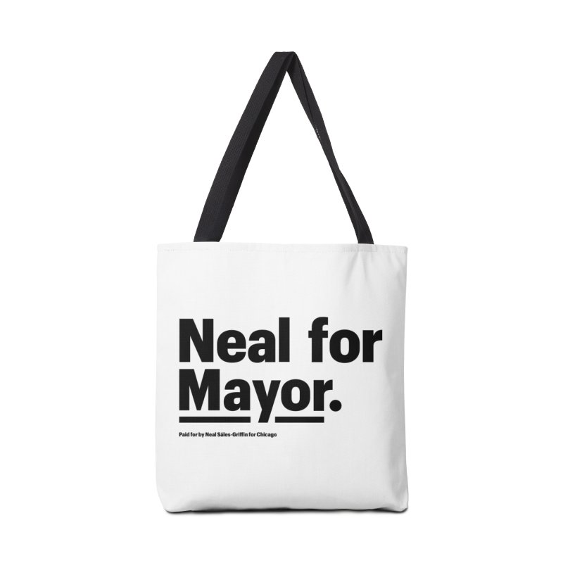 Neal for Mayor Accessories Tote Bag Bag by We Are Mayor | Neal For Mayor