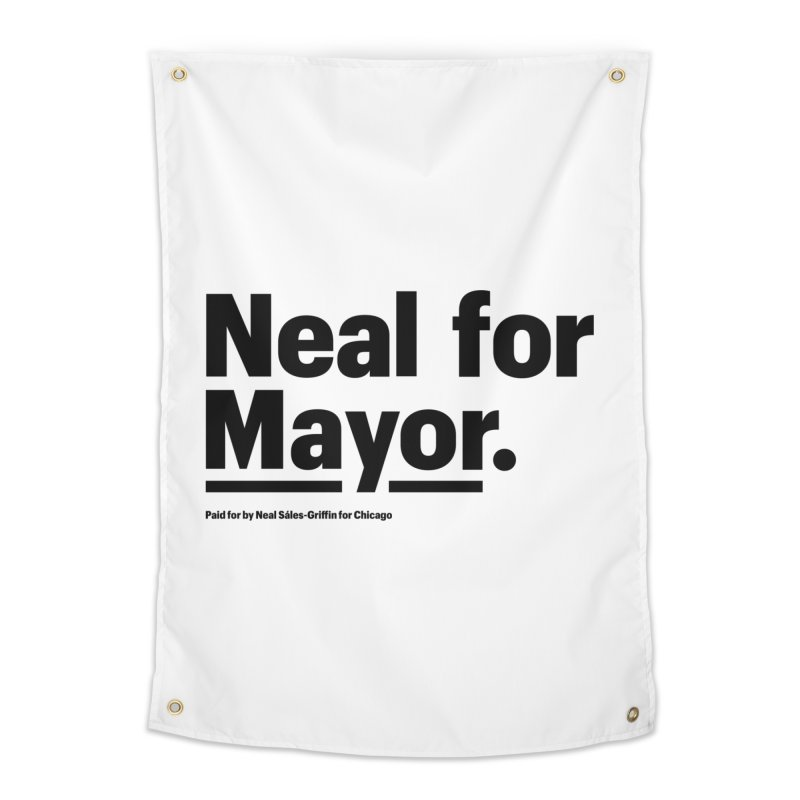 Neal for Mayor Home Tapestry by We Are Mayor | Neal For Mayor