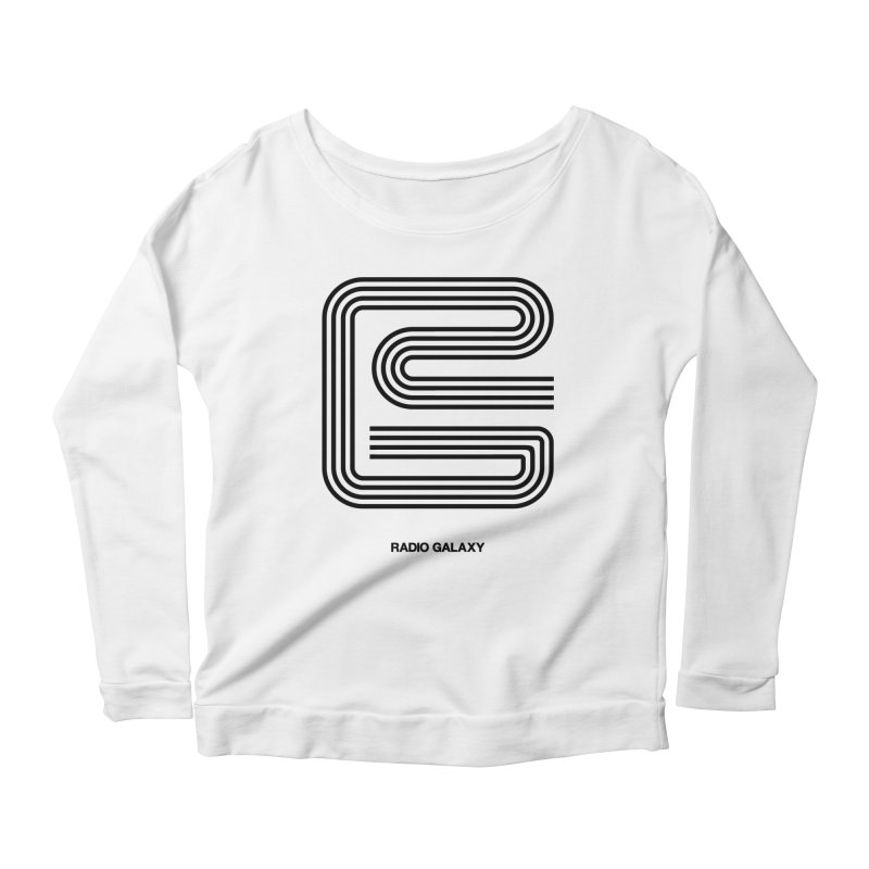 RG B 01 Women's Scoop Neck Longsleeve T-Shirt by RADIO GALAXY