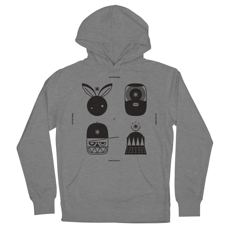 The Crew 01 Men's French Terry Pullover Hoody by RADIO GALAXY