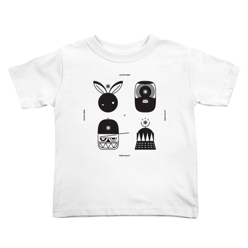 The Crew 01 Kids Toddler T-Shirt by RADIO GALAXY