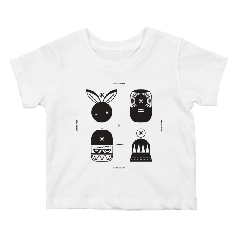 The Crew 01 Kids Baby T-Shirt by RADIO GALAXY