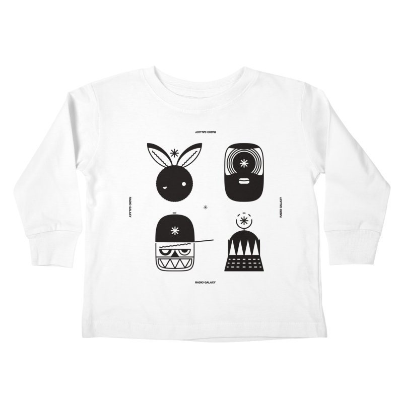 The Crew 01 Kids Toddler Longsleeve T-Shirt by RADIO GALAXY