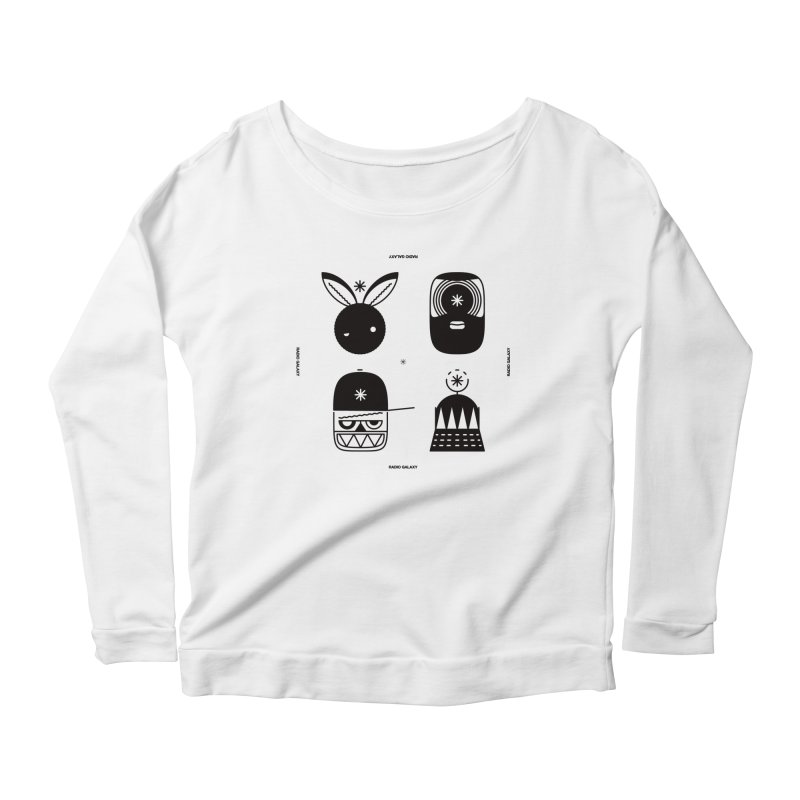 The Crew 01 Women's Scoop Neck Longsleeve T-Shirt by RADIO GALAXY