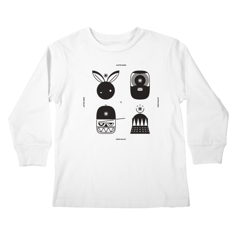 The Crew 01 Kids Longsleeve T-Shirt by RADIO GALAXY