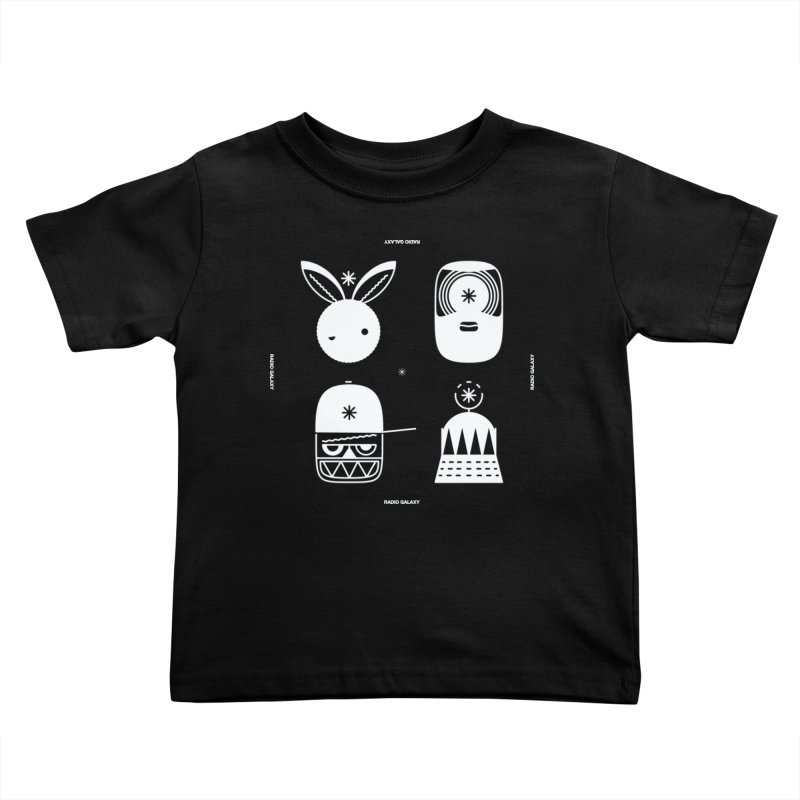 The Crew 02 Kids Toddler T-Shirt by RADIO GALAXY
