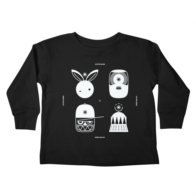 The Crew 02 Kids Toddler Longsleeve T-Shirt by RADIO GALAXY