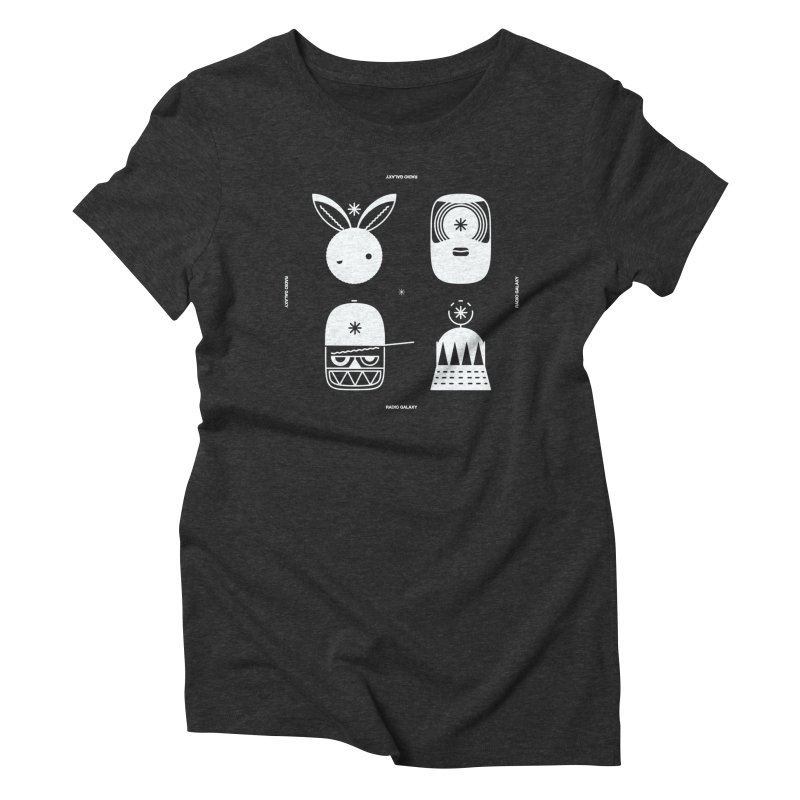 The Crew 02 Women's Triblend T-Shirt by RADIO GALAXY