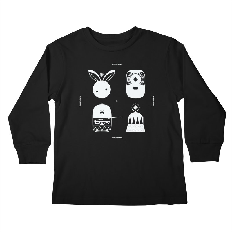 The Crew 02 Kids Longsleeve T-Shirt by RADIO GALAXY