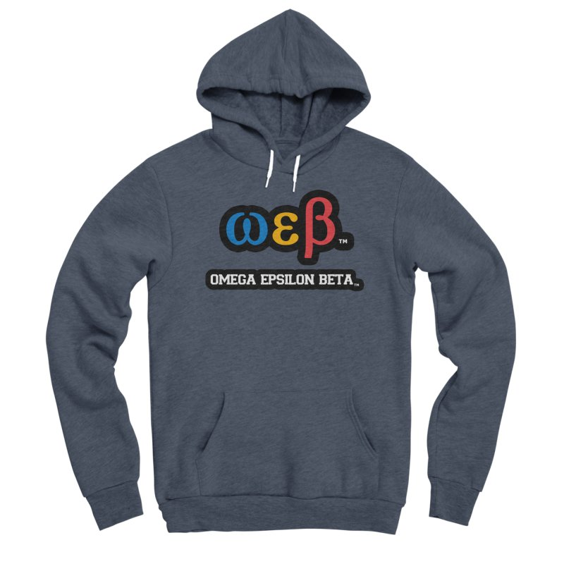 OMEGA EPSILON BETA™ | omegaepsilonbeta.com Men's Sponge Fleece Pullover Hoody by WebBadge Merch Shop