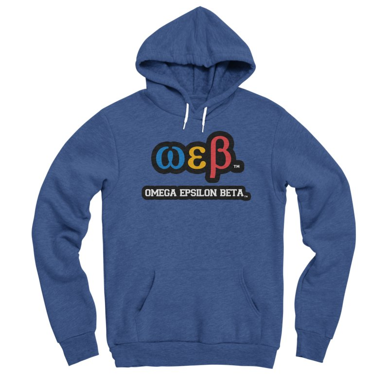 OMEGA EPSILON BETA™ | omegaepsilonbeta.com Men's Sponge Fleece Pullover Hoody by WebBadge Merch Shop