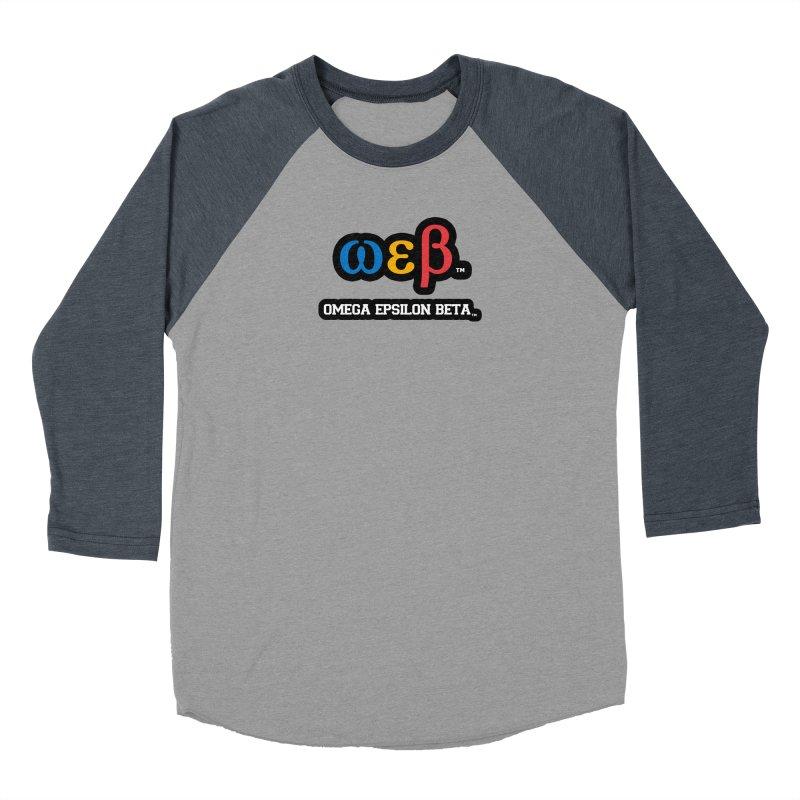OMEGA EPSILON BETA™ | omegaepsilonbeta.com Women's Longsleeve T-Shirt by WebBadge Merch Shop