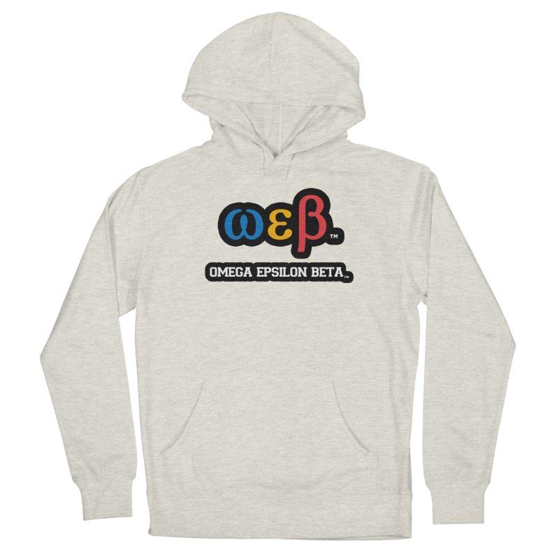 OMEGA EPSILON BETA™ | omegaepsilonbeta.com Men's French Terry Pullover Hoody by WebBadge Merch Shop