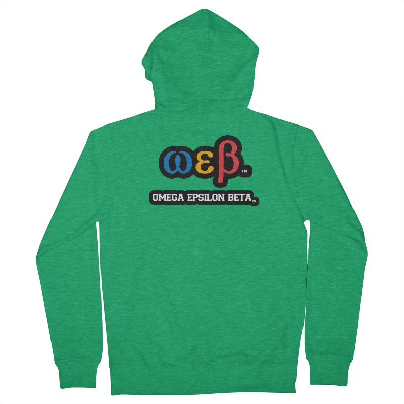 OMEGA EPSILON BETA™ | omegaepsilonbeta.com Women's Zip-Up Hoody by WebBadge Merch Shop