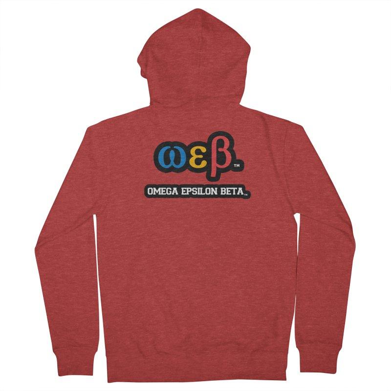 OMEGA EPSILON BETA™ | omegaepsilonbeta.com Women's French Terry Zip-Up Hoody by WebBadge Merch Shop